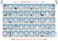 Danmark - Julemærket 2012 - Postfrisk gummieret ark