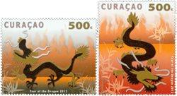 Curacao - L'année du dragon - Série neuve 2v