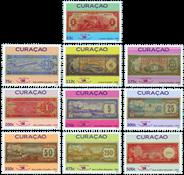 Curacao - Pengesedler - Postfrisk sæt 10v