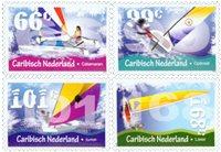 Caribisch Nederland - Zeilboten - Postfrisse serie van 4