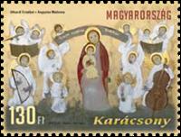 Hungary - Christmas'12 - Mint stamp