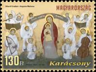 Hongrie - Noël 2012 - Timbre neuf
