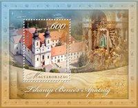 Ungarn - Benediktiner kloster - Postfrisk miniark