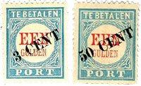 Pays-Bas 1910 - NVPH P27-28 - Neuf avec charnières