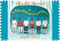 Groenland - Kerstzegels 2012