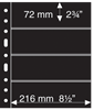 Grand A4 护袋,4黑色条形,每包5张