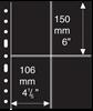 Grand A4 活页护袋- 2条横纵向条形,黑色,每包5页