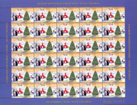 Grønland julemærkeark 2003