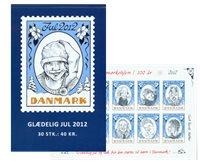 Dinamarca - Navidad 2012 - Carnet nuevo