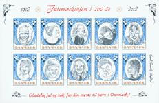 Danmark - Julemærket 2012 - Postfrisk miniark