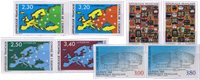France - Conseil de l'Europe - Les 4 séries - Non-dentelé neuf
