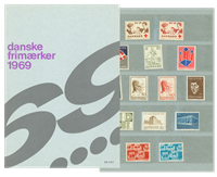 Danemark - Collection ann. 1969