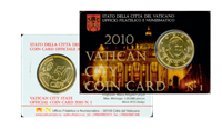 Vatican City - Coincard no. 1 2010