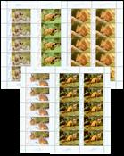 Allemagne - Forest animals shee - Feuille neuve de 10
