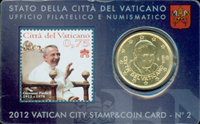 Vatican - 100 year of the Pope - Nice coin card