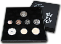 Denmark coin set proof 2005