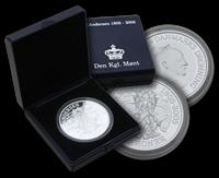 H.C. Andersen mønt Skyggen sølv