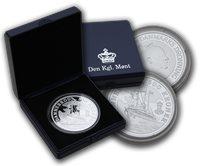 Danmark 2008 - Dannebrog - 500 kr. - Sølv