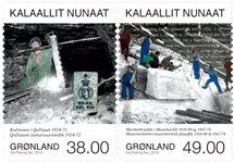 Groenland - Exploitation minière IV - Série neuve 3v