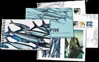Danmark - Fisk - Postfrisk prestigehæfte PRH11