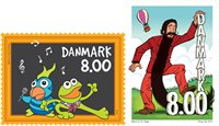 Denmark - Children's Tv - Mint set 2v