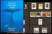 Færøerne. Årsmappe 1998