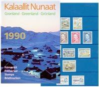 Grønland - Årsmappe 1990