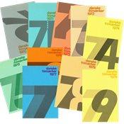 Danemark - Livre annuel 1970-1979
