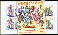 Vatikanet - Julen 2012 - Postfrisk hæfte