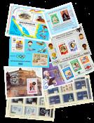 Nicaragua 10 miniark og 8 frimærker
