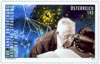 Austria - Kosmic radiation - Mint stamp