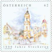 Østrig - Stockerau 1000 år - Postfrisk frimærke