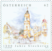 Autriche - Stockerau 1000 ans - Timbre neuf
