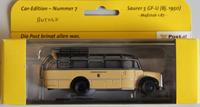 Minimodel - Car edition - Nummer 7 - Saurer 5 GF-U - Diverse
