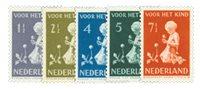 Holland 1940 - NVPH 374-378 - Postfrisk