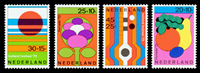 Holland 1972 - NVPH 1003-1006 - Postfrisk