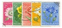 Nederland 1952 - Nr. 583-587 - Gebruikt