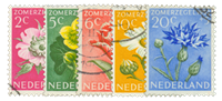 Holland 1952 - NVPH 583-587 - Stemplet