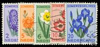 Holland 1953 - NVPH 602-606 - Stemplet