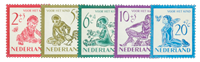 Holland 1950 - NVPH 563-567 - Postfrisk