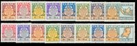 Curacao - Curacao Helpt Nederland 1946 (LP53-LP68,  ongebruikt)