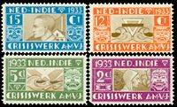 Indes néerlandaises - 1933, nos 182-185, neuf