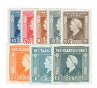Nederland Indië - Koningin Wilhelmina 1945-46 (nr.309-316, postfrisk)