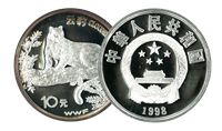 Leopard coin