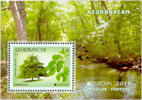 Azerbaijan - Europa 2011 - Postfrisk miniark