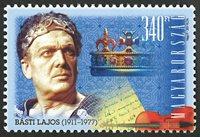 Ungarn - Básti Lajos - Postfrisk frimærke