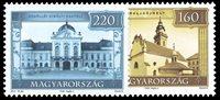 Ungarn - Seværdigheder - Postfrisk sæt 2v