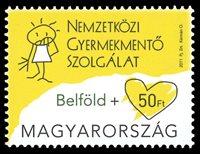 Ungarn - Solidaritet - Postfrisk frimærke