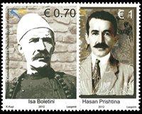 Kosovo - 1912 oprøret - Postfrisk sæt 2v