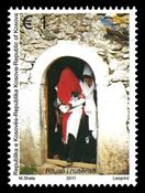 Kosovo - Brudehætte ritualet - Postfrisk frimærke
